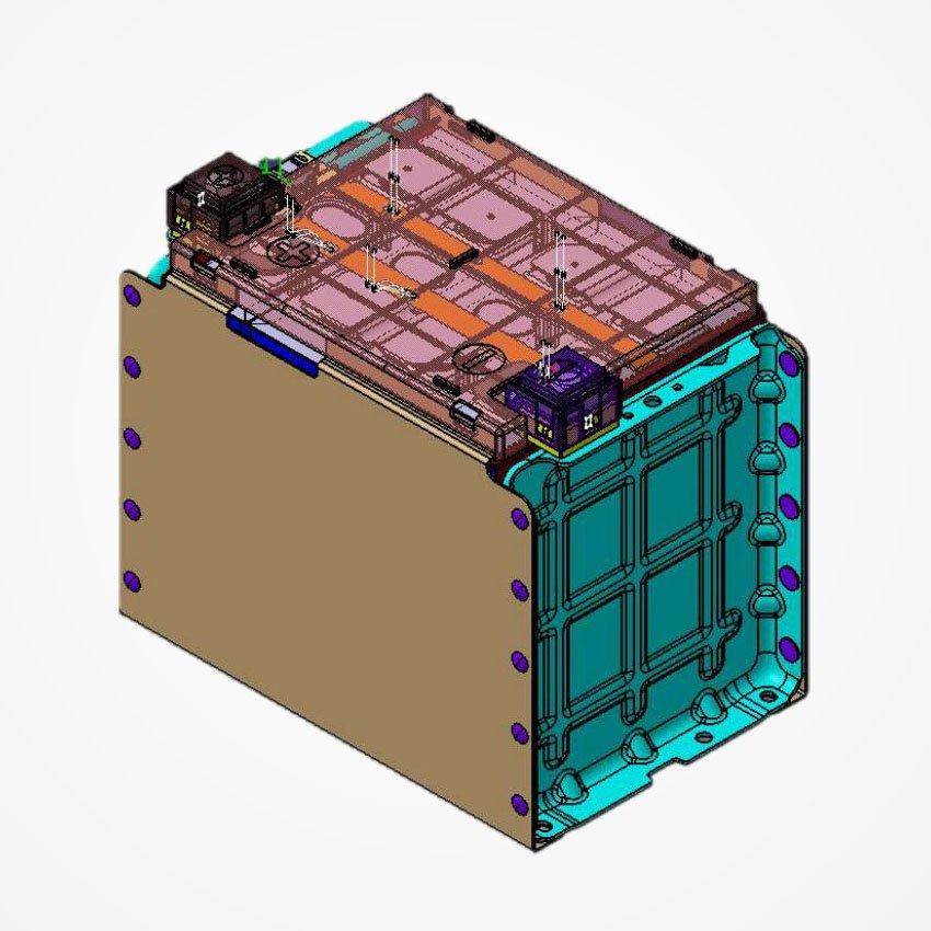 CATL Battery Module LFP202Ah-1P4S
