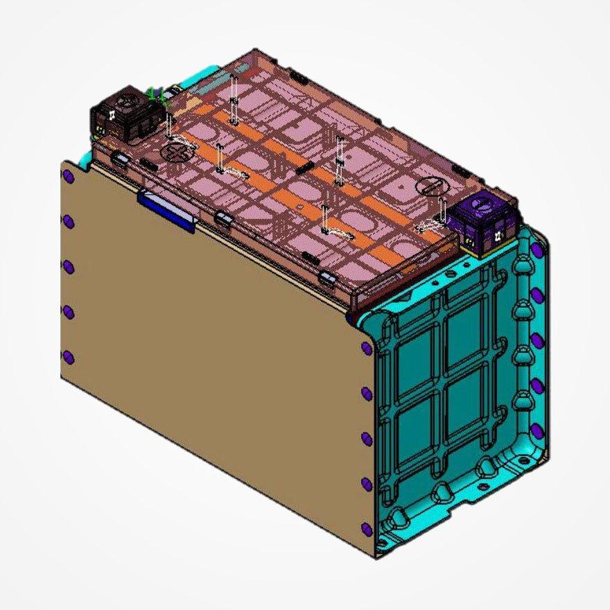 CATL Battery Modules LFP202Ah-1P5S