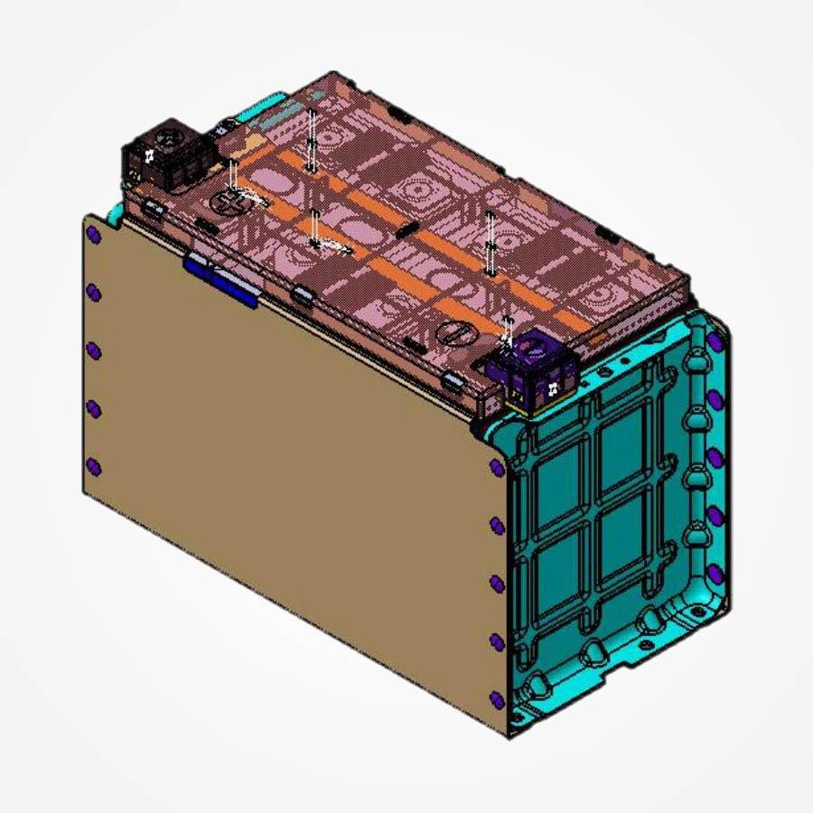 CATL BATTERY Module LFP271Ah-1P4S