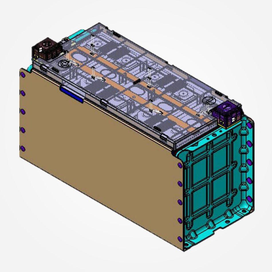 CATL Battery Module LFP271Ah_1P5S